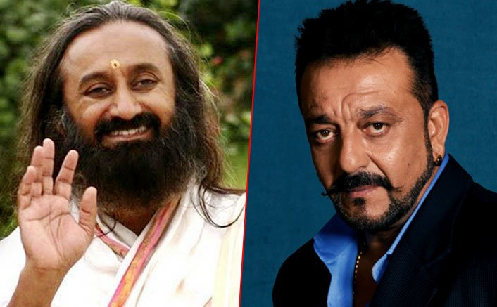Sanjay Dutt on a big mission to make this country drug free says, Shri Shri Ravi Shankar.