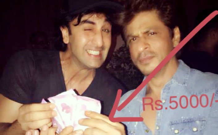 Shah Rukh Khan pays Ranbir Kapoor Rs 5000 for suggesting Jab Harry Met Sejal
