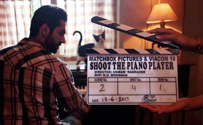 Ayushmann Khurrana Kicks Off Shoot For Shoot The Piano Player