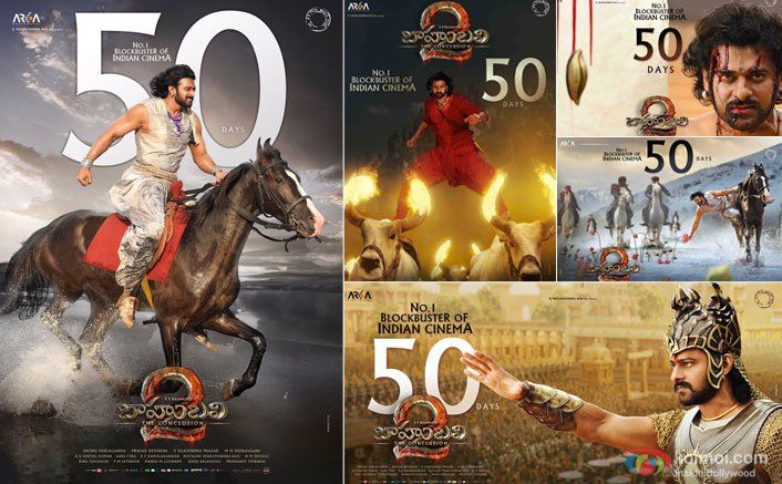 Baahubali Aka Prabhas' New Posters Celebrating 50 Days Completion