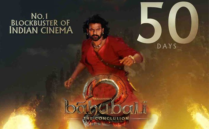 Box Office - Baahubali 2 enjoys 50th day today, makes first half of 2017 look excellent