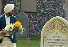 The Grave Of Maharajah Duleep Singh : The Black Prince