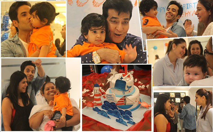 Inside pictures of Tusshar Kapoor's son, Laksshya Kapoor's 1st birthday party!