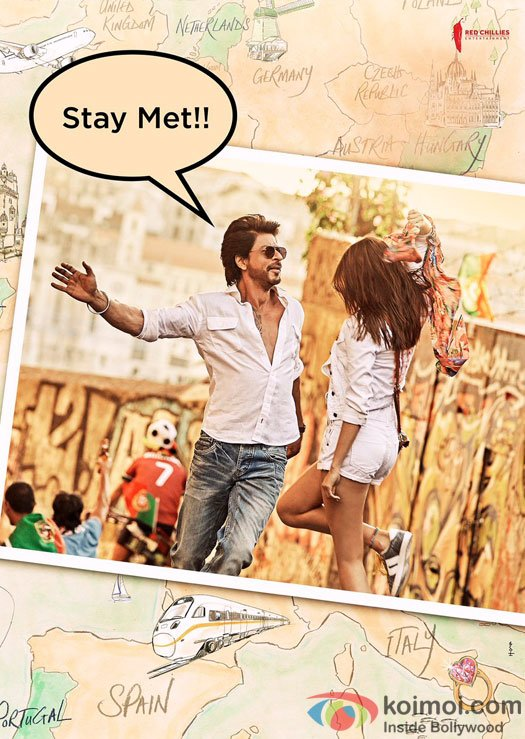 POSTER! Get Another Glimpse of SRK & Anushka From Jab Harry Met Sejal