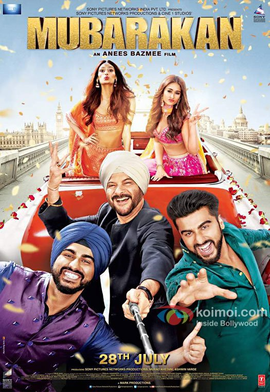 New Poster! The Cast Of Mubarakan Takes A Selfie Together