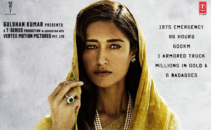 POSTER! Badass Ileana D'Cruz Goes Bold & Traditional For Baadshaho