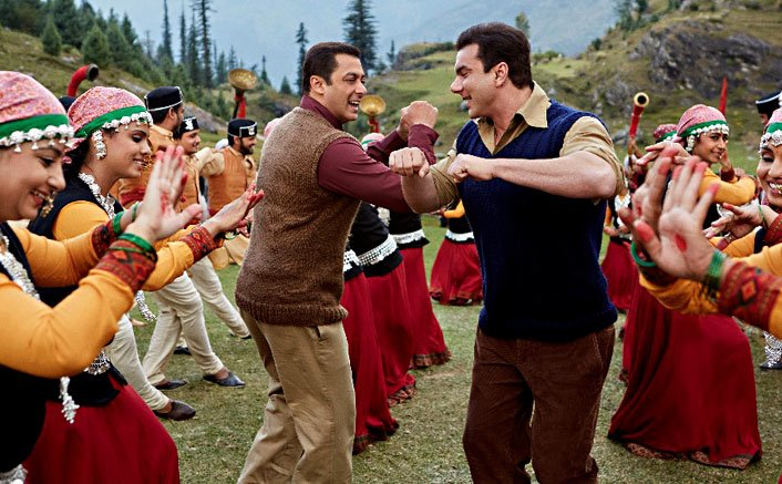 Salman Khan And Sohail Khan Starrer Naach Meri Jaan Song From Tubelight