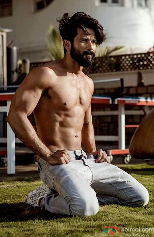 Shahid Kapoor ropes in celebrated chef to customize diet for his new look!