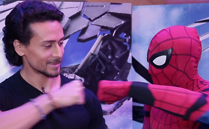 Spider-Man: Homecoming Promo | Tiger Shroff