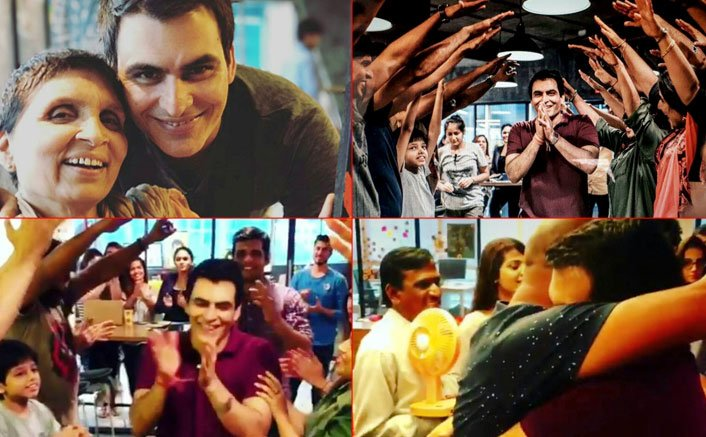 Team Tumhari Sulu Gets Emotional As Manav Kaul Wraps His Shoot