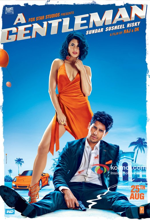 A Gentleman's New Poster | Ft. Sidharth Malhotra & Jacqueline Fernandez