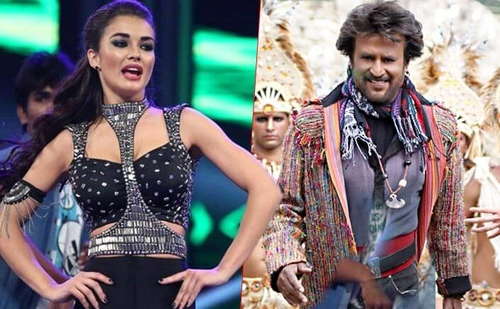 Amy Jackson to shoot one of the biggest dance tracks ever with mega star Rajinikanth!
