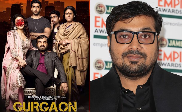 Anurag Kashyap launches poster of Gurgaon