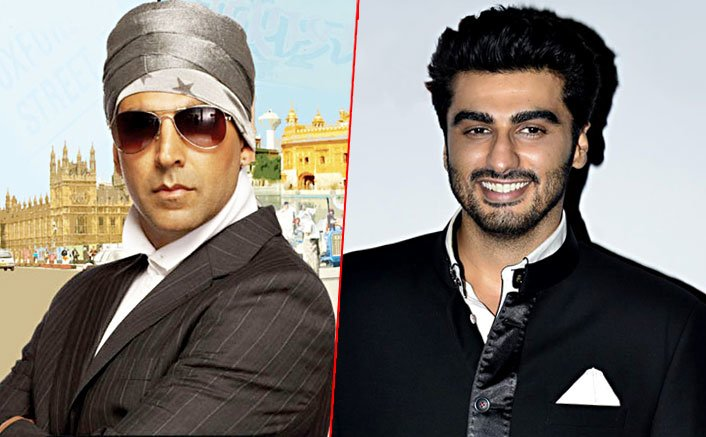 Arjun Kapoor in, Akshay Kumar out of Namastey England?