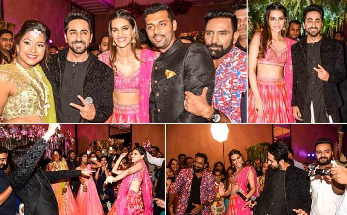 When Ayushman Khurrana and Kriti Sanon gate crashed an Engagement Party