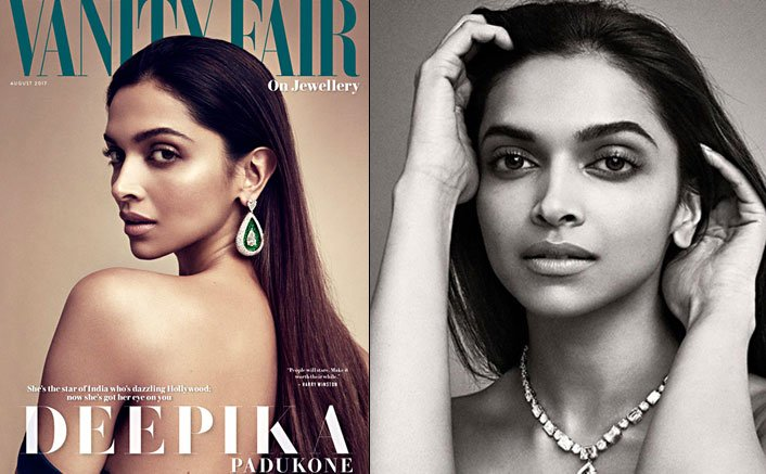 Deepika Padukone On The Cover Page Of Vanity Fair