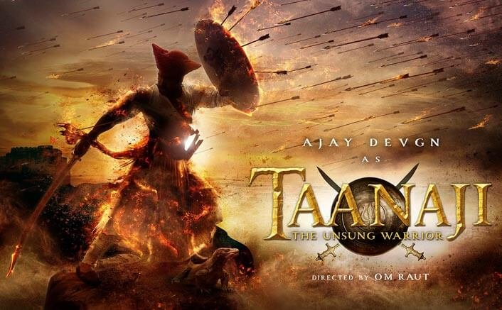 First Look Poster Of Ajay Devgn Starrer Taanaji