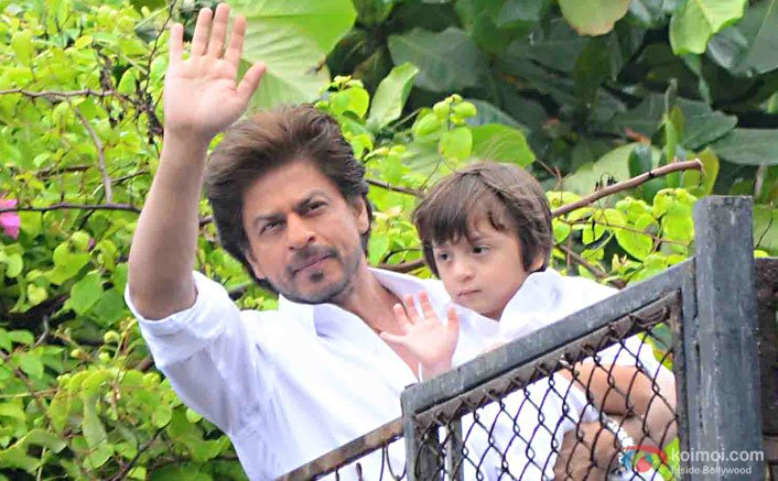 Fortunate AbRam is born for 'lovedom': SRK