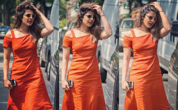 Priyanka Chopra On The Sets Of A Kid Like Jake
