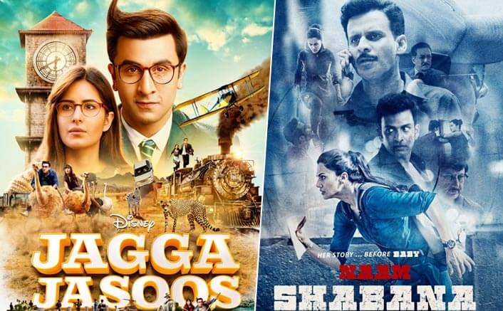 Jagga Jasoos Evicts Naam Shabana| Enters the List of Top 10 Higest Grossers