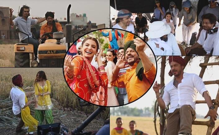 Making of Butterfly Song: SRK & Anushka Dance In The Fields Of Punjab