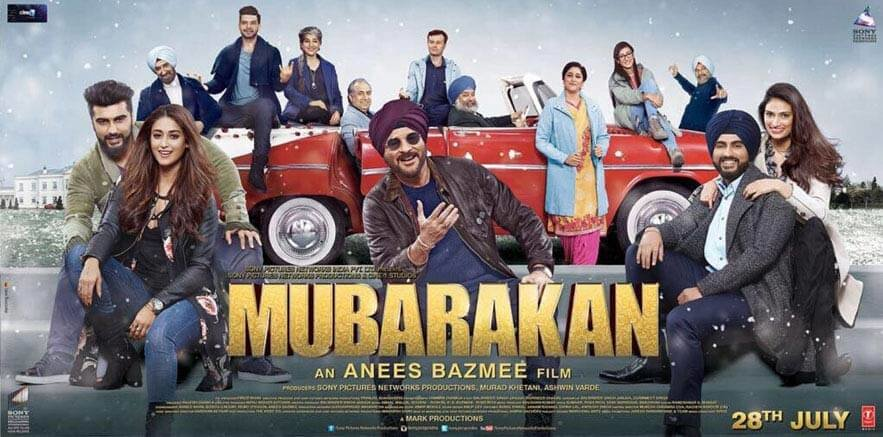 Mubarakan 6th Day Box Office Collection