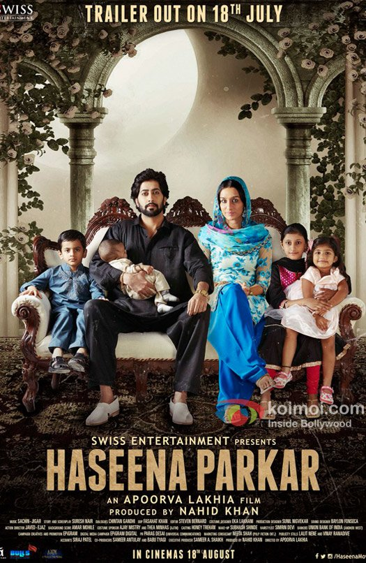 New Poster of Haseena Parkar