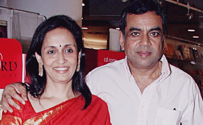 Paresh Rawal, Swaroop come together for song