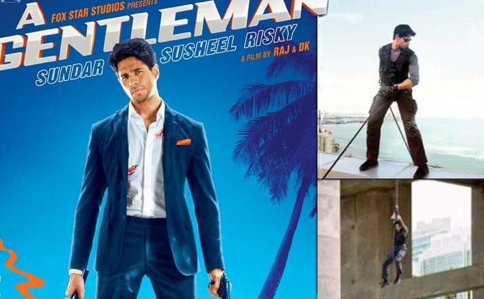 Sidharth picks up a new talent on the sets of 'A Gentleman'