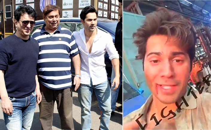 Varun Dhawan shoots action-packed 'Judwaa 2' climax