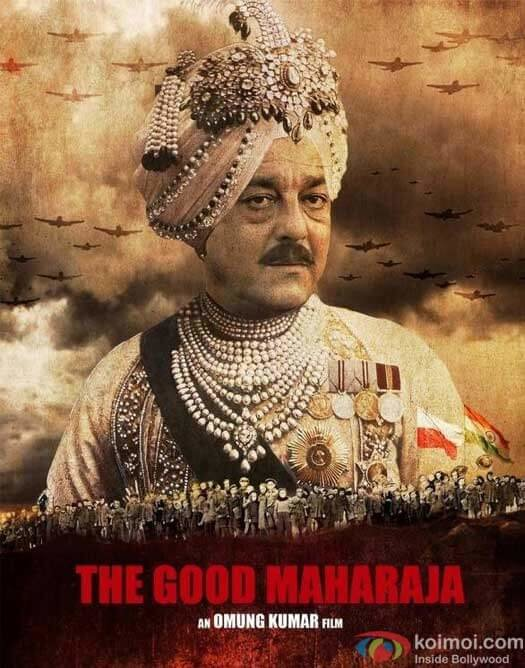 The Good Maharaja: Royal King Sanjay Dutt's First Look Out