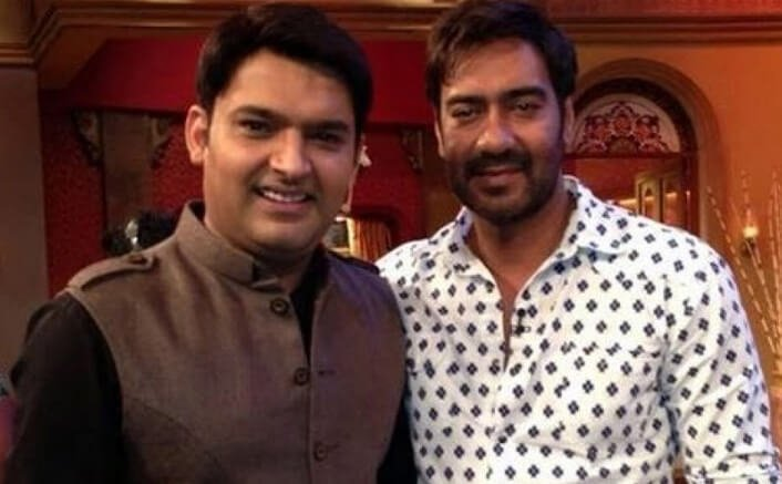 Not angry with Kapil Sharma Ajay Devgn
