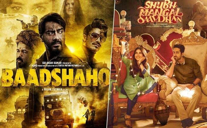 Baadshaho and Shubh Mangal Savdhaan expected to bring in good news for Bollywood and audiences