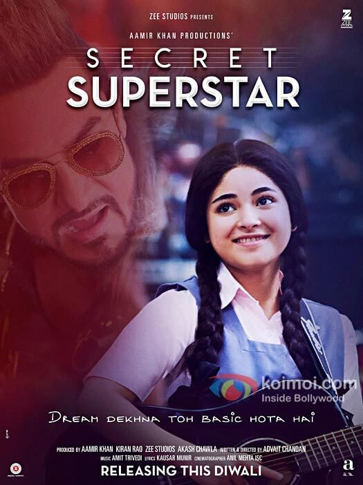 Check Out The New Poster Of Aamir Khan's Secret Superstar