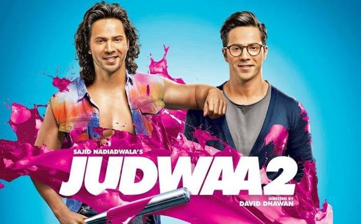 Get In Love With Hairstyle & Smile Of Varun Dhawan In This Judwaa 2 Poster