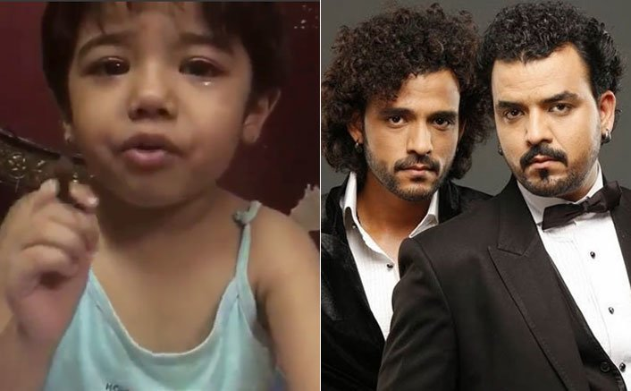 Revealed: The Crying Kid In Viral Video Turns Out To Be The Niece Of The Singers Sharib And Toshi