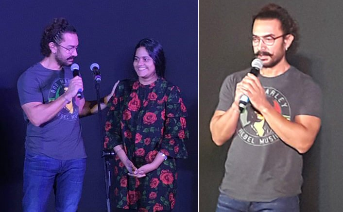 Aamir Khan all praise for 'Secret Superstar' director