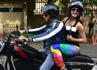 Sidharth Malhotra and Jacqueline Fernandez set out on a Monsoon bike ride!