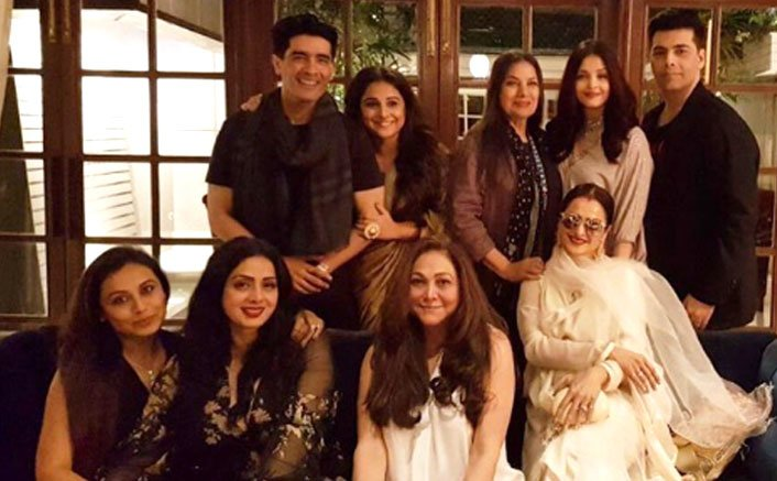 Sridevi's Birthday Pictures: Aishwarya Rai, Rekha, Rani Mukerji, Vidya Balan Graced The Bash
