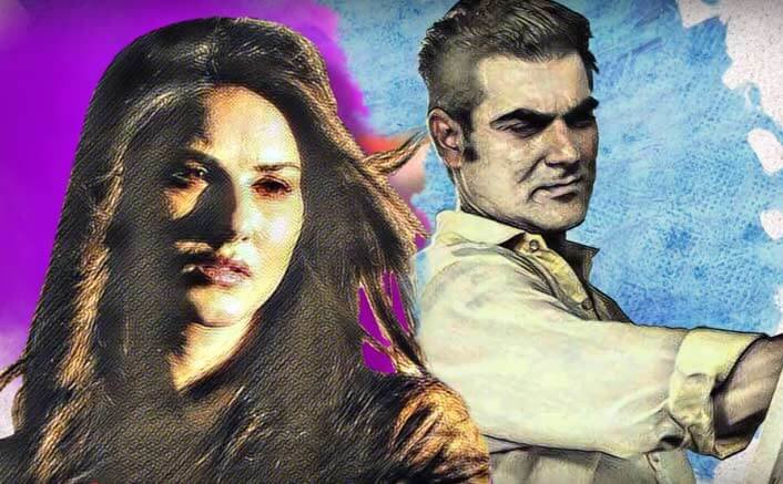 Sunny Leone and Arbaaz Khan in Tera Intezaar