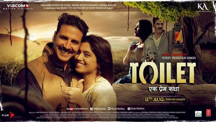 Akshay Kumar Toilet: Ek Prem Katha Movie Tenth / 10th Day Collections