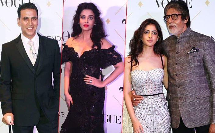 Bollywood Stars Dazzle At The Vogue Beauty Awards 2017