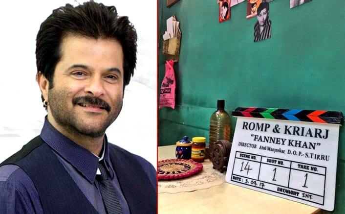 Anil Kapoor starts shooting for 'Fanney Khan'