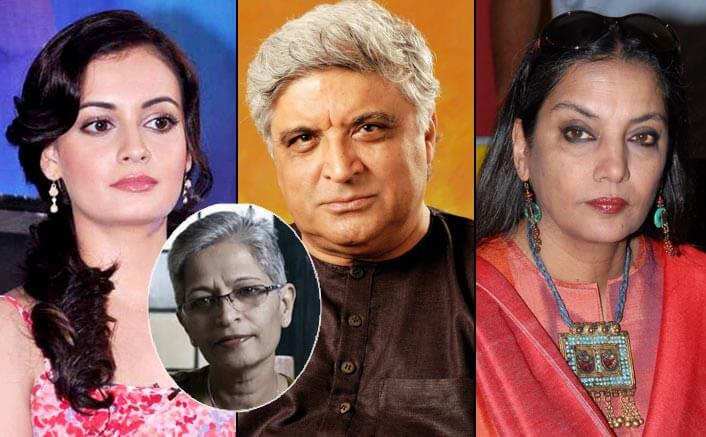 B-Town celebrities condemn murder of journalist Gauri Lankesh