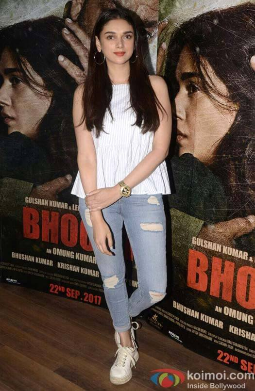 """Bhoomi is a film about the universal bond between a father and a daughter""- Aditi Rao Hydari"
