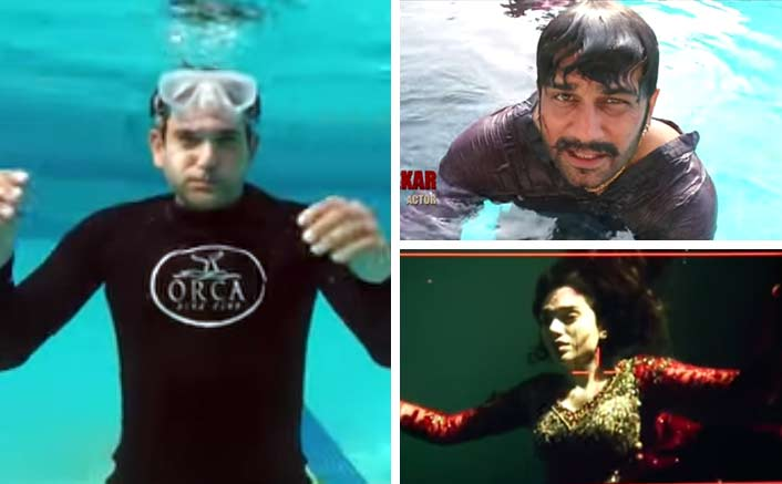 Makers Of Bhoomi Give A First Hand Experience Of Shooting An Underwater Sequence In This BTS Video