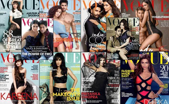 Celebrate 10 Years Of Vogue India With These Unmissable Covers