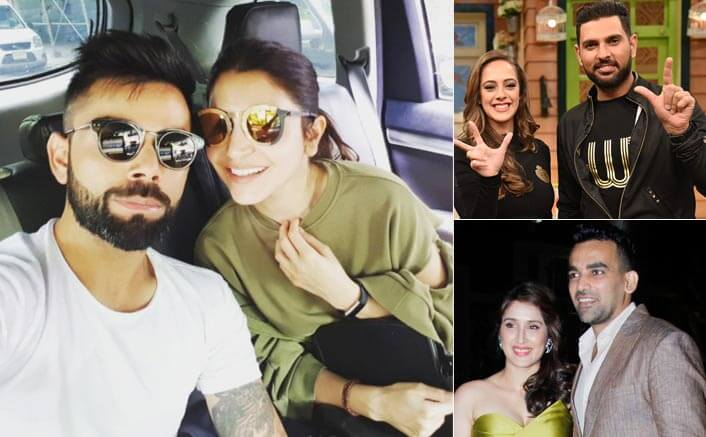 Cricketer-Bollywood star relationships