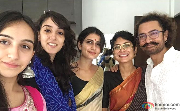Dangal Girl Fatima Sana Shaikh Joins Aamir Khan's Eid Celebrations With His Family