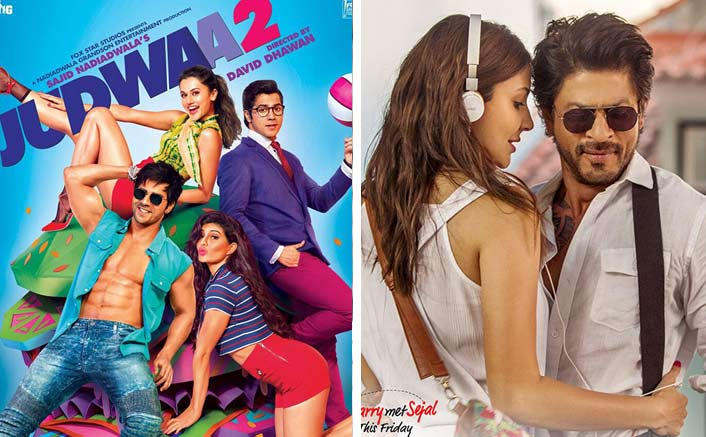 Judwaa 2 Beats Jab Harry Met Sejal To Enter The List Of Top 5 Highest Openers Of 2017